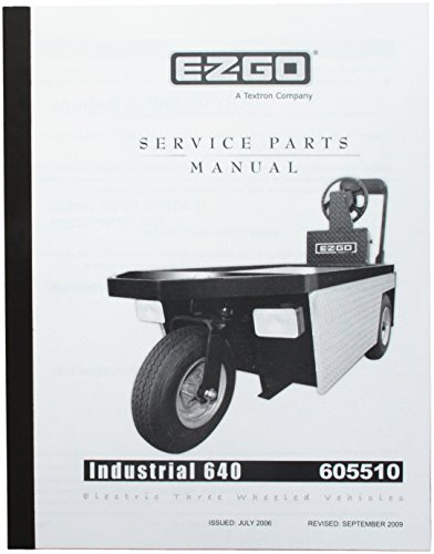E-Z-GO EzGo 6055102007+ Service Teile für elektrische DREI Rädern industriellen Fahrzeug