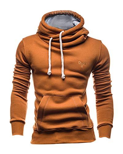 ShallGood Herren Basic Kapuzenpullover Sweatjacke Pullover Hoodie Sweatshirt - Juno Kostüm