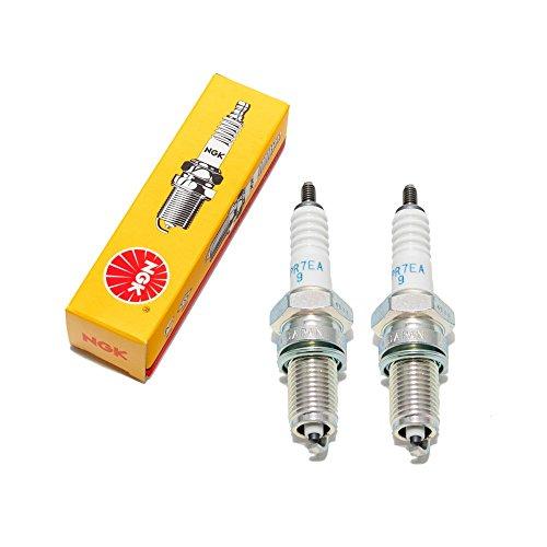 Set candele NGK–2X dpr7ea 9per VT/KYMCO VENOX/ M/C/VL/YAMAHA XVS/XV/MT 01
