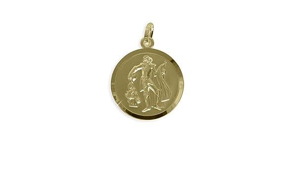 Echt 8 Karat Gold 333 Anhänger Heiliger Florian Patron der