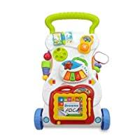 Born Baby Multi-function Walker Toy Baby Stroller Anti-rollover Learning Stand With Music