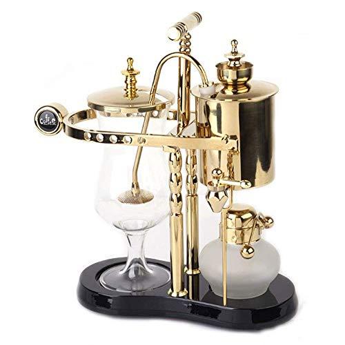 Royal Belgian Kaffee Maschine Balance Siphon Holzsockel Leicht Zu Reinigen Nehmen Permanentfilter...