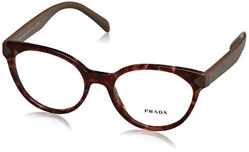 Prada Sonnenbrille 0PR 01TV Spotted Brown Pink, 51