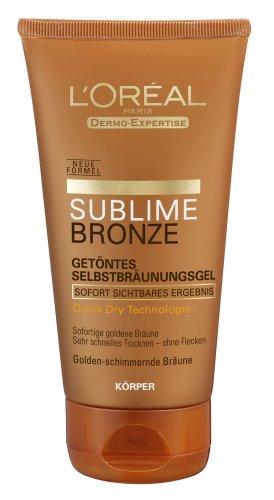 L' oréal paris sublime bronzo gel, autoabbronzante gel, 150ml