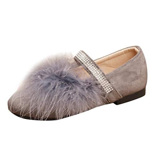3c83ad20b Zapatos de Terciopelo para Niñas Otoño 2018 Moda PAOLIAN Zapatos de Vestir  Boda Princesa Calzado con