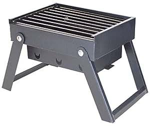 portable grill holzkohle grill bbq dieser mini klappbar wird mit einem handheld turbine fire. Black Bedroom Furniture Sets. Home Design Ideas