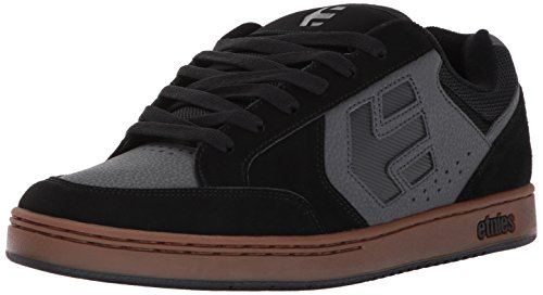 Etnies Swivel, Scarpe da Skateboard Uomo Nero (Black/grey/gum)