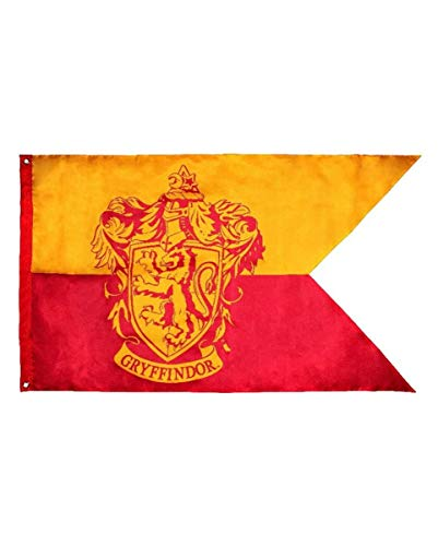 Motto Kostüm Party Harry Potter - Harry Potter Gryffindor Flagge für Harry Potter Fans, Motto Parties & Quidditch Turniere