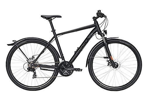 Bulls Wildcross Street Trekking-Bike schwarz - Herren Fahrrad 28 Zoll - 21 Gang Kettenschaltung