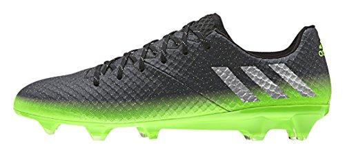 Adidas Messi 16.1 Fg, Scarpe da Calcio Allenamento Uomo, Multicolore (Dkgrey/Silvmt/Sgreen), 42 EU