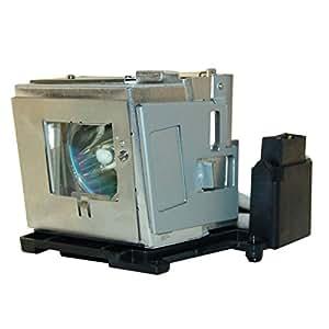 PJxJ Lampe AN-D350LP avec châssis pour SHARP PG-D2500X/ PG-D2710X/ PG-D3010X/ PG-D3510X
