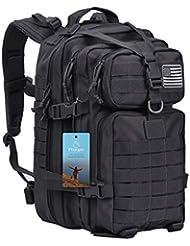 Prospo 40L Military Tactical Backpack Molle Shoulder Bag Rucksack Assault Pack Daypack Camping Trekking Hunting Fishing