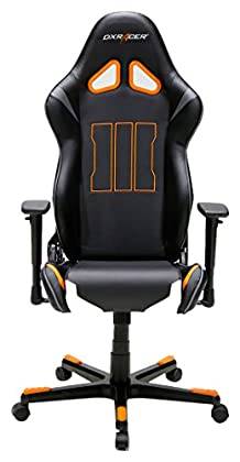 DX Racer10 62540CO4 – Silla de Oficina para Gaming, diseño de Call of Duty, 69 x 125-140 x 53 cm, Color Negro/Naranja