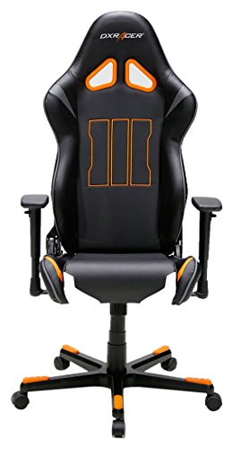 DX Racer10 62540CO4 – Silla de oficina para gaming, diseño de Call of Duty, 69 x 125 – 140 x 53 cm, color negro / naranja