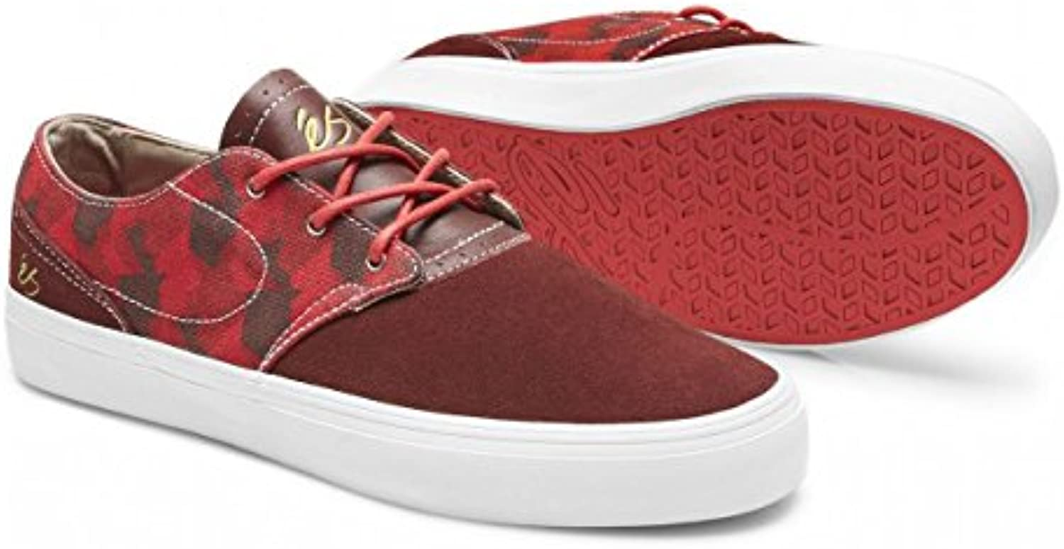 Es Skateboard Shoes Accent Red Sz 7  -