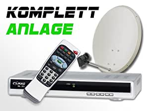 comag digitale single satelliten anlage komplett set. Black Bedroom Furniture Sets. Home Design Ideas