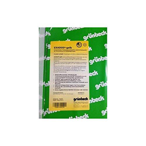 Preisvergleich Produktbild Grünbeck Dosierlösung EXADOS, 20 kg Kanister gelb