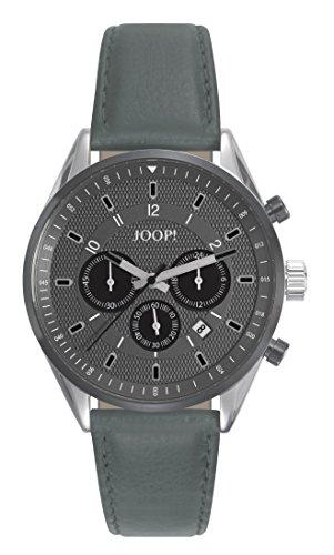 Montre Hommes Joop! Quartz - Affichage Chronographe Bracelet Cuir Vert et Cadran Gris JP101911001