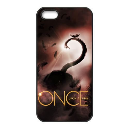 iPhone 5, 5S Phone Case Black Once upon a time YU4740548