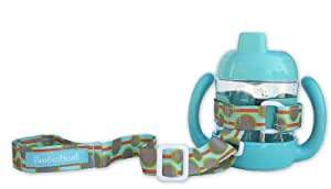 BooginHead SippiGrip Cup/Toy Holder in Green Delight