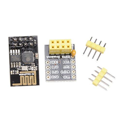 MUZOCT Esp8266 Esp-01 Esp-01s Mit Breakout Board Breadboard Adapter Für Serial Wireless WiFi Transceiver Netzwerk