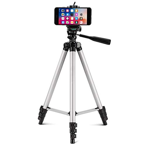 MOWEAR Mobile Phone Tripod Stand with Mobile Clip ...