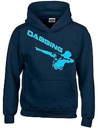 DABBING ! Kinder HOODIE Sweatshirt mit Kapuze Kids Gr.128 - 164 cm Dabbin