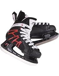 SPOKEY® DRAKE Patines de hockey sobre hielo | Patines | 39-47 | Cuchillas de hockey sobre hielo | Acero inoxidable | Casquillo reforzado, Spokey Größen:45