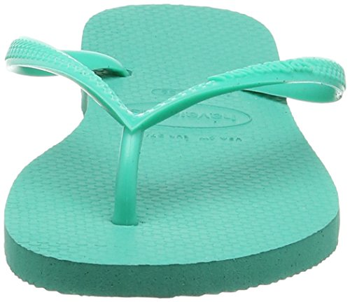 Havaianas - Slim - Tongs - Fille Green (Mint Green/Mint Green 9460)