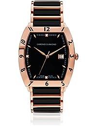 Chrono Diamond Reloj con movimiento cuarzo suizo Man 10300Fr Leandro 40 mm