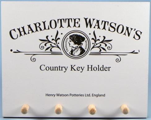 Charlotte Watson Country Wall Keyholder - 624
