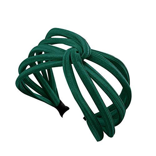 Momangel Damen Stirnband Blackish Green 12cm x ()