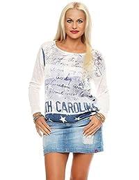 Key Largo T-Shirt femmes Haut à manches longues NORD CAROLINA