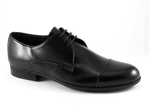 MELLUSO , Chaussures de ville à lacets pour homme noir noir Noir