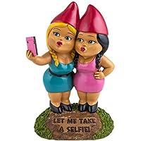 BigMouth Inc Selfie Hermanas Enano de Jardín
