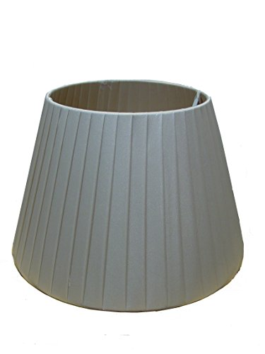 12-satin-finish-pleated-light-shade-ceiling-table-lampshade-champagne