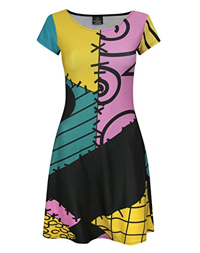 Damen - Disney - Nightmare Before Christmas - Kleid (XL)