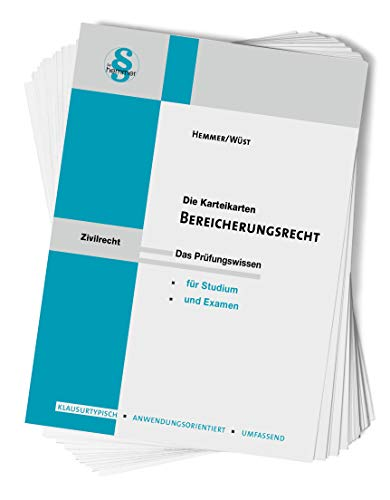 Karteikarten Bereicherungsrecht (Karteikarten - Zivilrecht)
