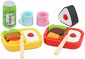Picknick Essen Iwako Radiergummi Set 8 Stück Japan