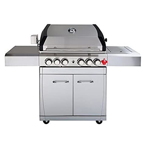 Royal Fire A250SS Arosa Series Stainless Steel 6 Burner BBQ