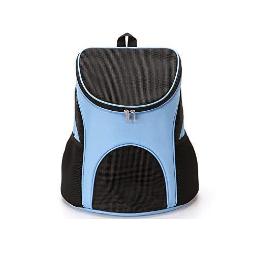 LGXS Borsa Traspirante per Cani Borsa per Il Trasporto di Grandi capacità Gabbia per Cani e Gatti Grigio Grigio Chiaro Rosa Rosso,Blue,Small