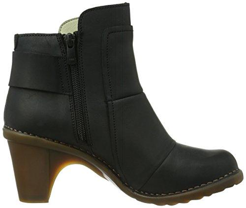 El Naturalista Duna N566, Boots femme Noir (Cares Black)