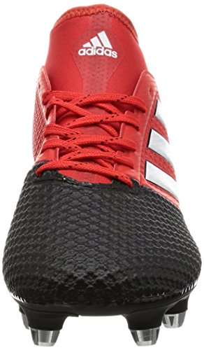 adidas Ace 17.3 Primemesh Soft Ground, Scarpe da Calcio Uomo Rosso (Red/ftwr White/core Black)