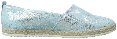 Marc Shoes Emily, Espadrilles femme Bleu - Blau (light blue 755)
