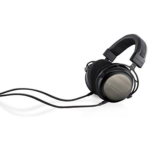 Beyerdynamic T12nd Generation HiFi Stereo-Kopfhörer mit dynamischen halboffenen Design schwarz - 3