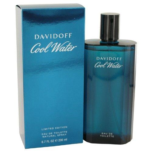 Cool Water per uomo da Davidoff Eau De Toilette Spray 200 ml