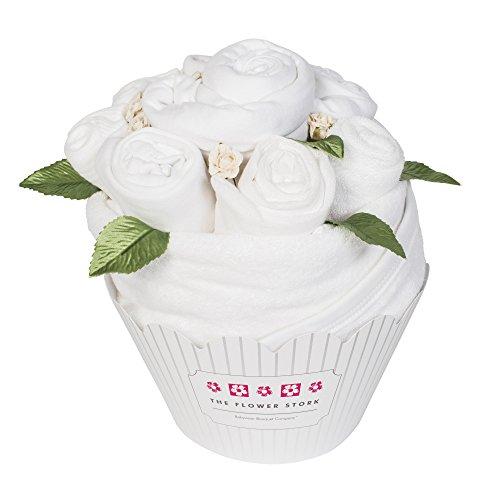 Cupcake Bouquet - Blanc classique