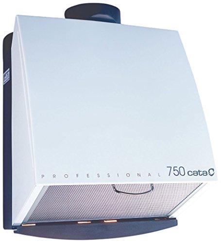 Cata Professional 750 Extractor centrífugo de cocina, 105 W, 230 V, Blanco...
