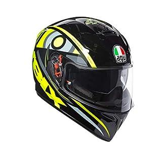 AGV 0301A0EY_015_L K-3 SV E2205 Helm TOP PLK, Gelb, Größe L