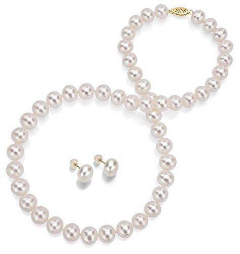 la-regis-jewelry-damen-14-k-585-gelbgold-halbrund-susswasser-zuchtperle-perle